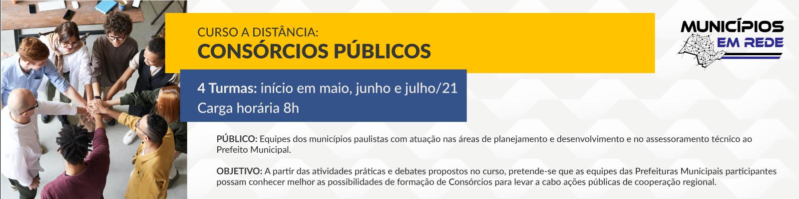 Banner - Consórcios Públicos